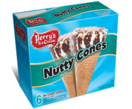 6 PK Nutty Cones