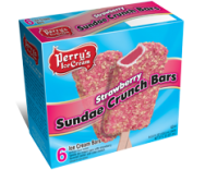 6 PK Strawberry Sundae Crunch Bars