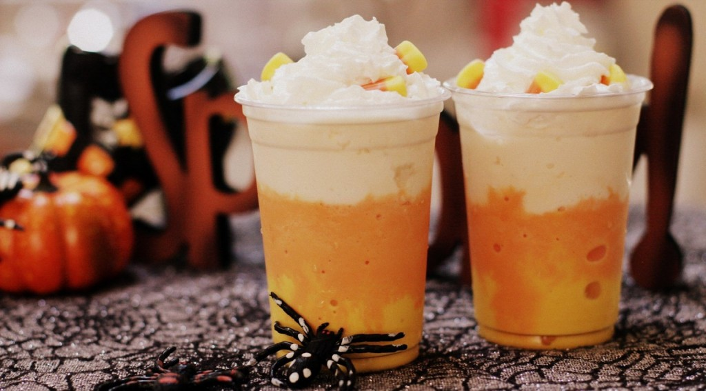 Halloween Candy Corn Ice Cream Recipe