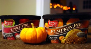 Apple Pie and Pumpkin Pie - Perry's Ice Cream
