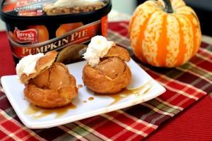 Perry's Ice Cream Pumpkin Puffs