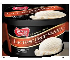 Lactose Free Vanilla Panda Pop Blue Raspberry