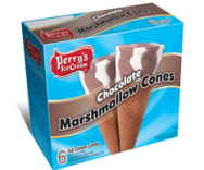 6 PK Chocolate Marshmallow Cones