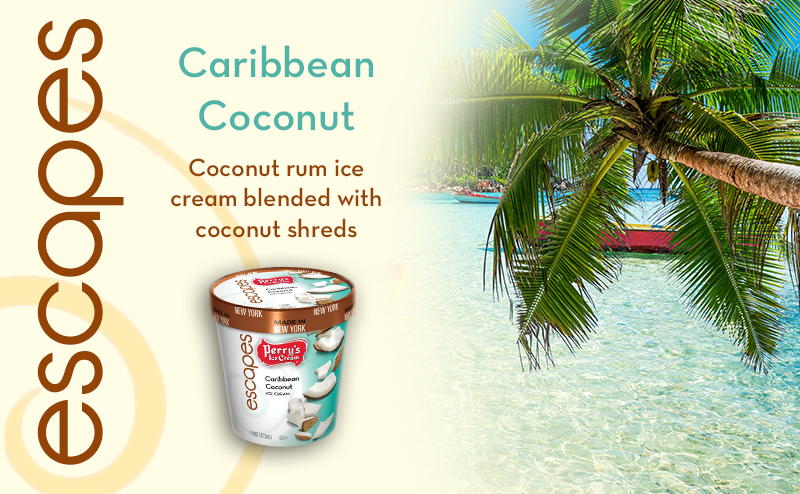 Escape with Caribbean Coconut - Perry's Ice CreamPerry's Ice Cream