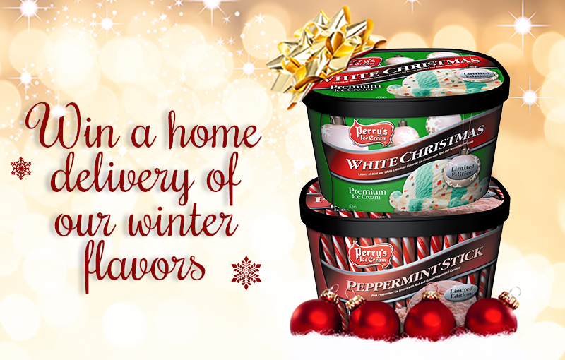 Christmas Flavors.Win Our Winter Flavors Perry S Ice Creamperry S Ice Cream