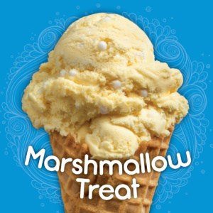 marshmallow treat at ice cream stands